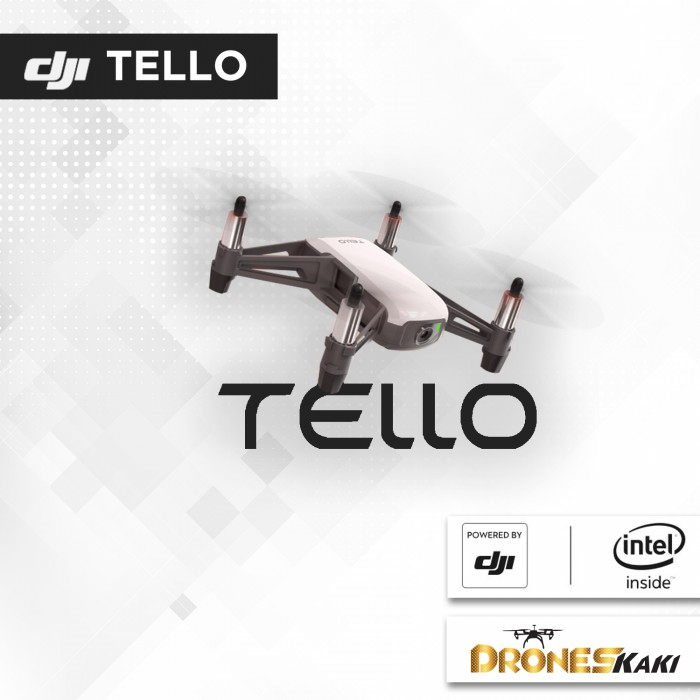 DJI TELLO - RYZE TECH (READY STOCK)