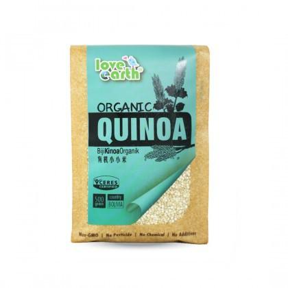 Love Earth Organic Quinoa 500g 乐儿有机藜麦 500公克 (袋装)