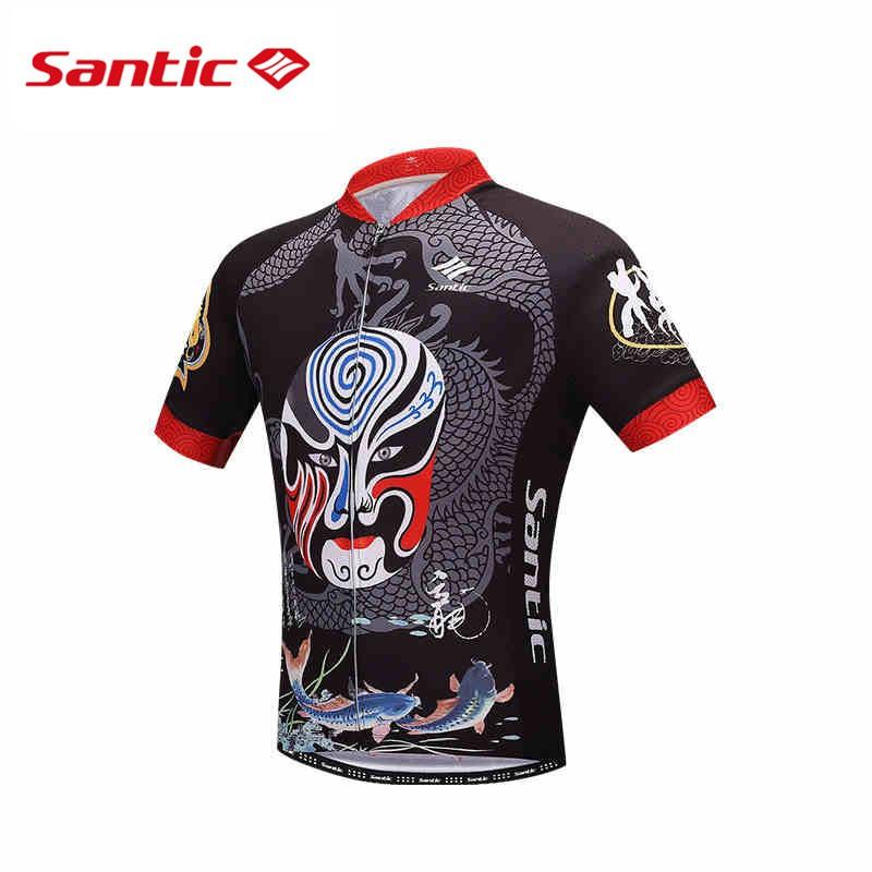 Santic New Men s Cycling Short Sleeve Jerseys Race Bike Bicycle Shirts  M8C02133  31c63cb8f