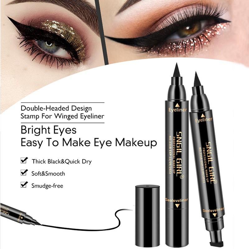Spirited Makeup Liquid Eyeliner Pencil Waterproof Eye Liner Black Color With Stamp Seal Eyeliner Pencil Online Shop Eyeliner Beauty Essentials