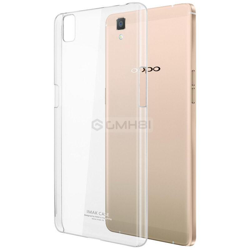 wholesale dealer cf619 59171 Oppo R7 R7s Imak Crystal Transparent Hard Back PC Cover Case Scratch  Resistant
