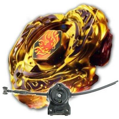 Beyblade L-Drago Destructor Black Grip Destroy GOLD Armored Metal Fury 4D