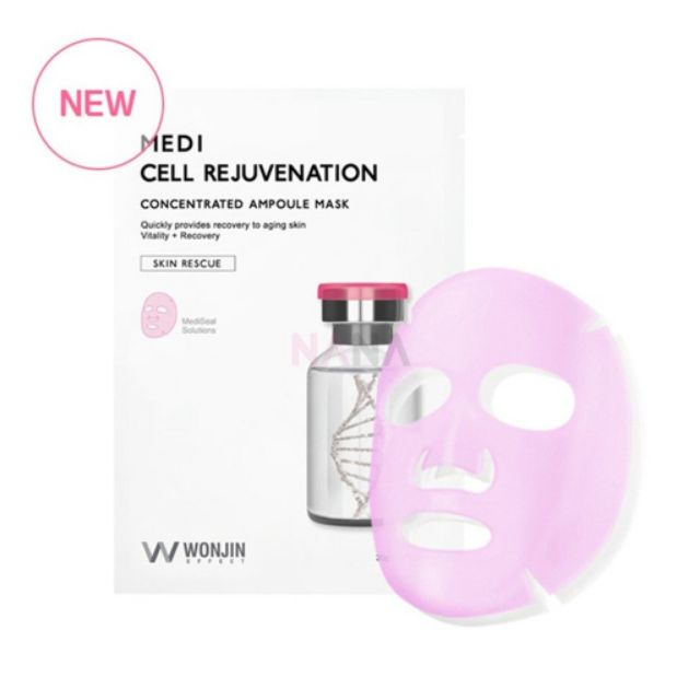 Wonjin Medi Cell Rejuvenation Concentrated Ampoule Mask 10