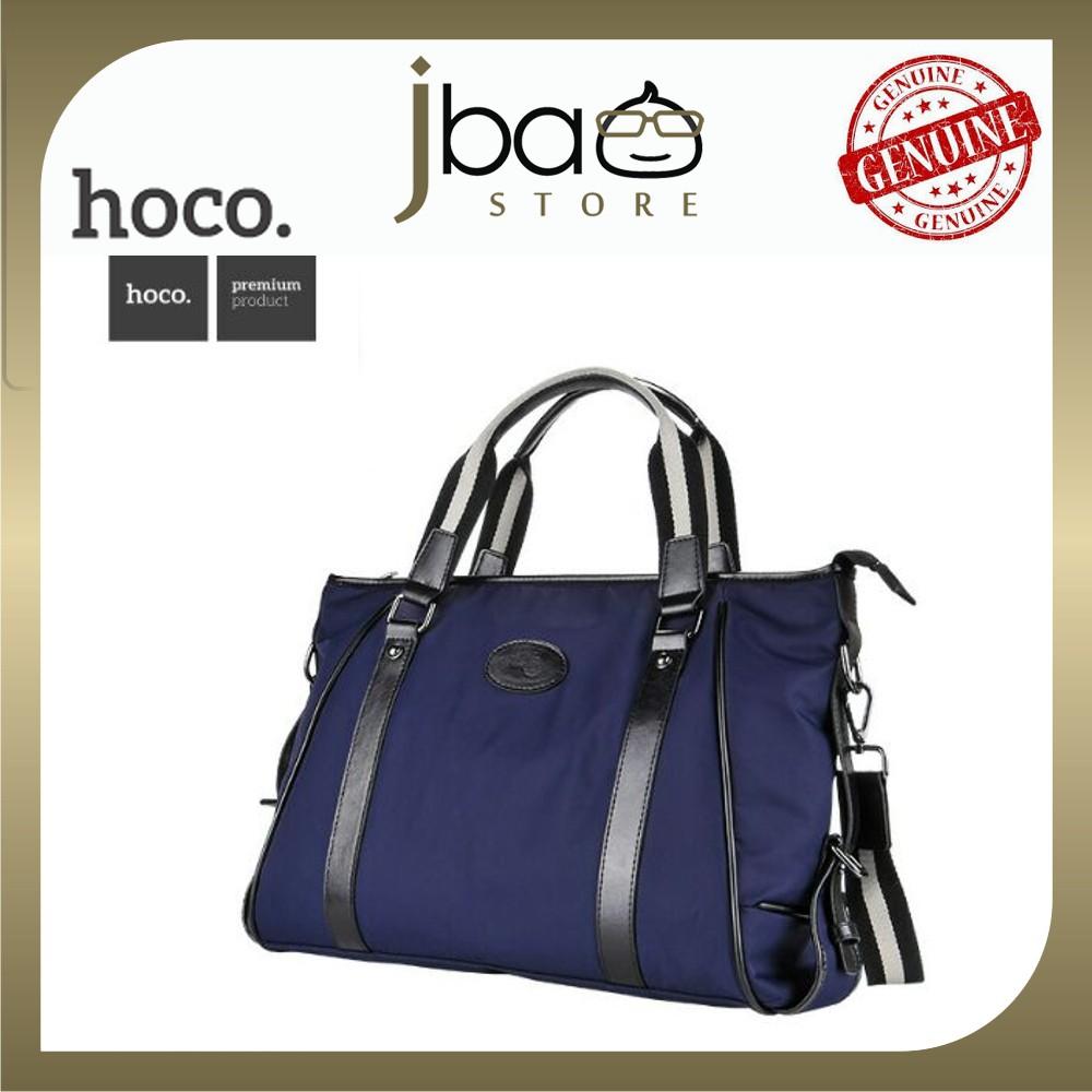HOCO HS8 Waterproof Pure Nylon Leisure Handbag Shoulder Casual University Bag (Sapphire)