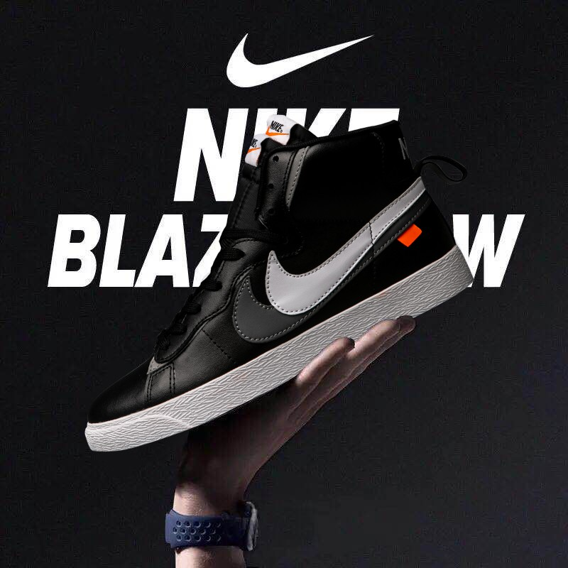 new arrival outlet for sale discount shop True Standard Half Yard Nike Nike Blazer Mid Co-branded High-top Leather  Pionee