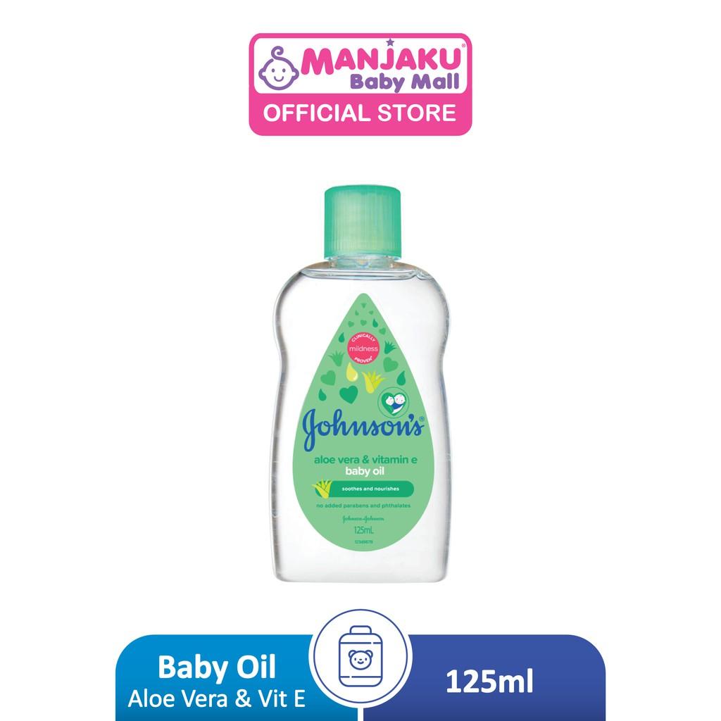 Johnson Baby Aloe Vera Oil (125ml)
