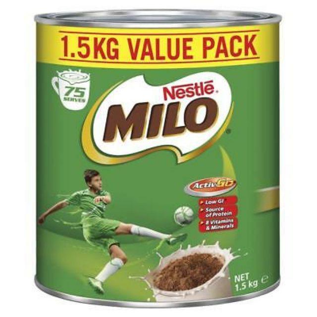 MILO (Australia Import) Milo Tin 1.1kg / 1.25 kg / 1.5 kg