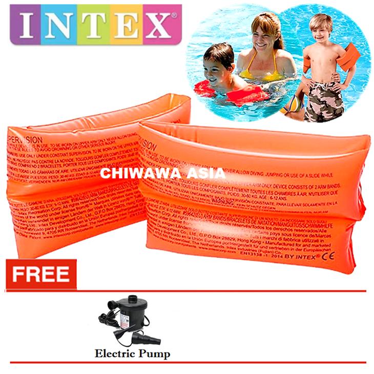 PROMOTION 59642 Inflatable Arm Band Float Ring Lifesaving Raft Lifebuoy Swimming Pool Aid KOLAM