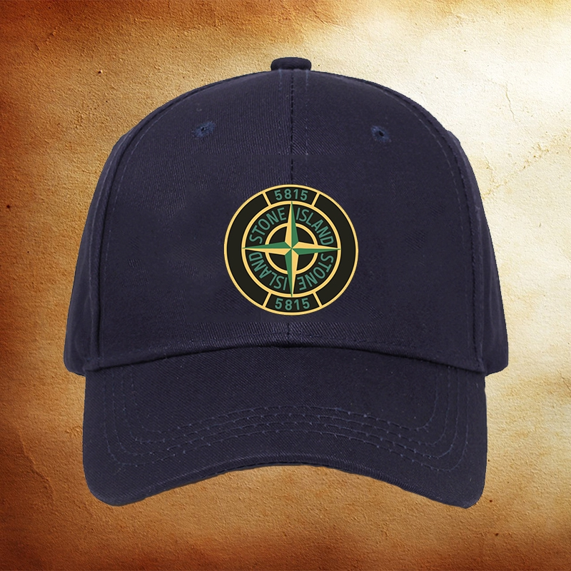 New Stone Island Embroidery Hat Strapback Adjustable Cap For Men or Women