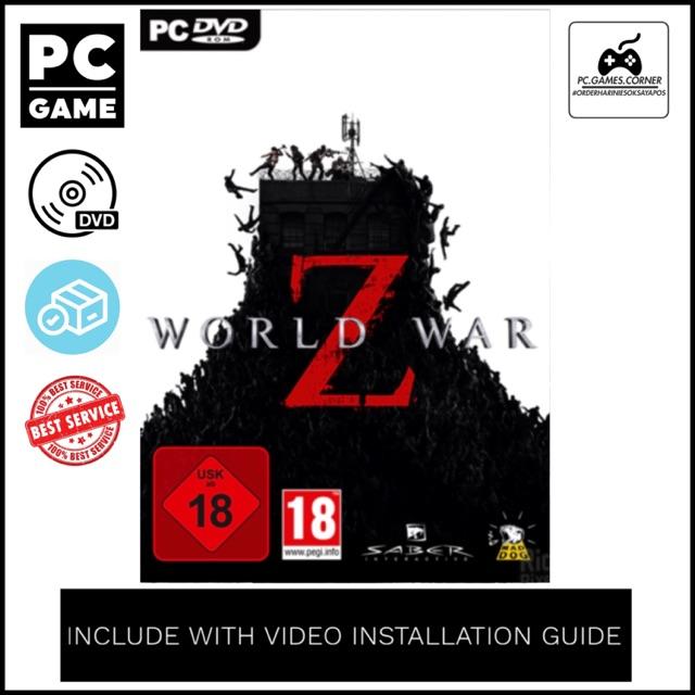 [PC Game] World War Z - Offline [DVD]