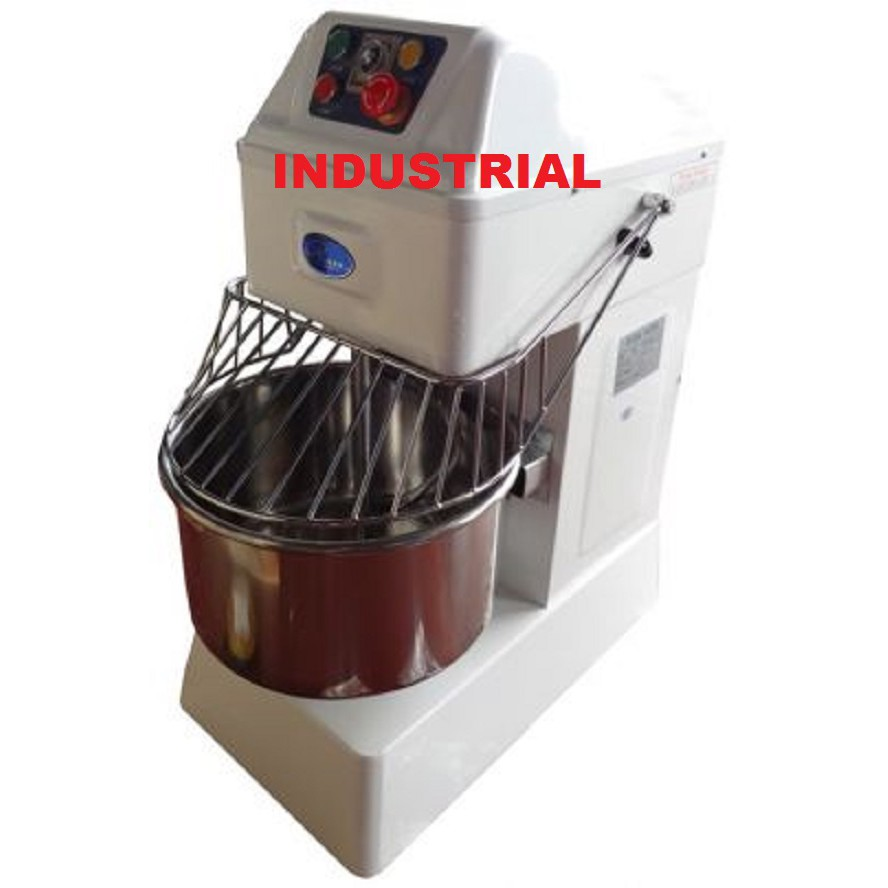 1500W 6700W 21L 130L THE BAKER INDUSTRIAL SPIRAL FLOUR MIXER MIXING HS20 HS30 HS