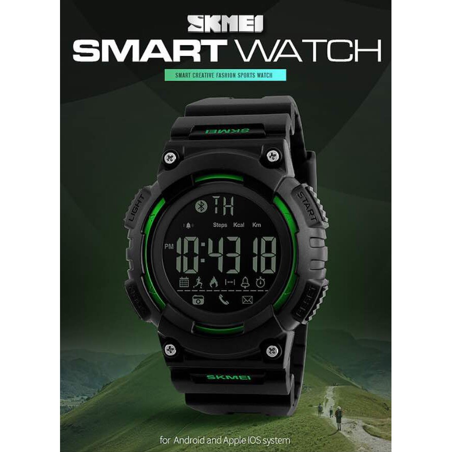 [LOCAL SELLER] SKMEI 1256 Men Women's Smart Watch