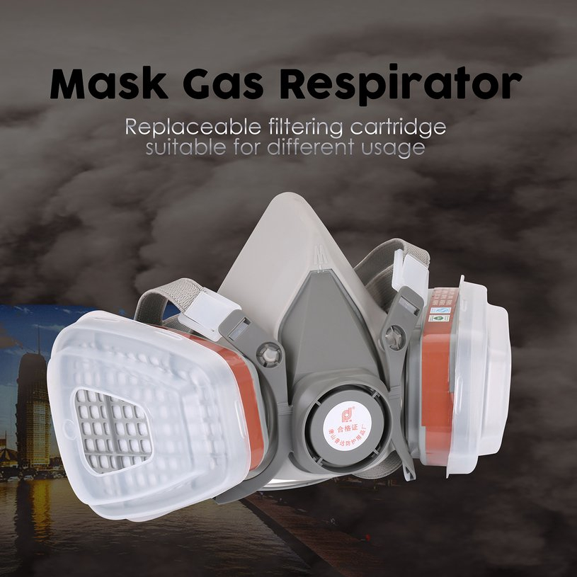 Honest Anti-dust Respirator Mask Filter Industrial Paint Spraying Protective Facepiece Workplace Safety To Adopt Advanced Technology Masks