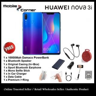 Huawei Nova 3i 128GB - 4GB + 2 Year by HUAWEI Malaysia