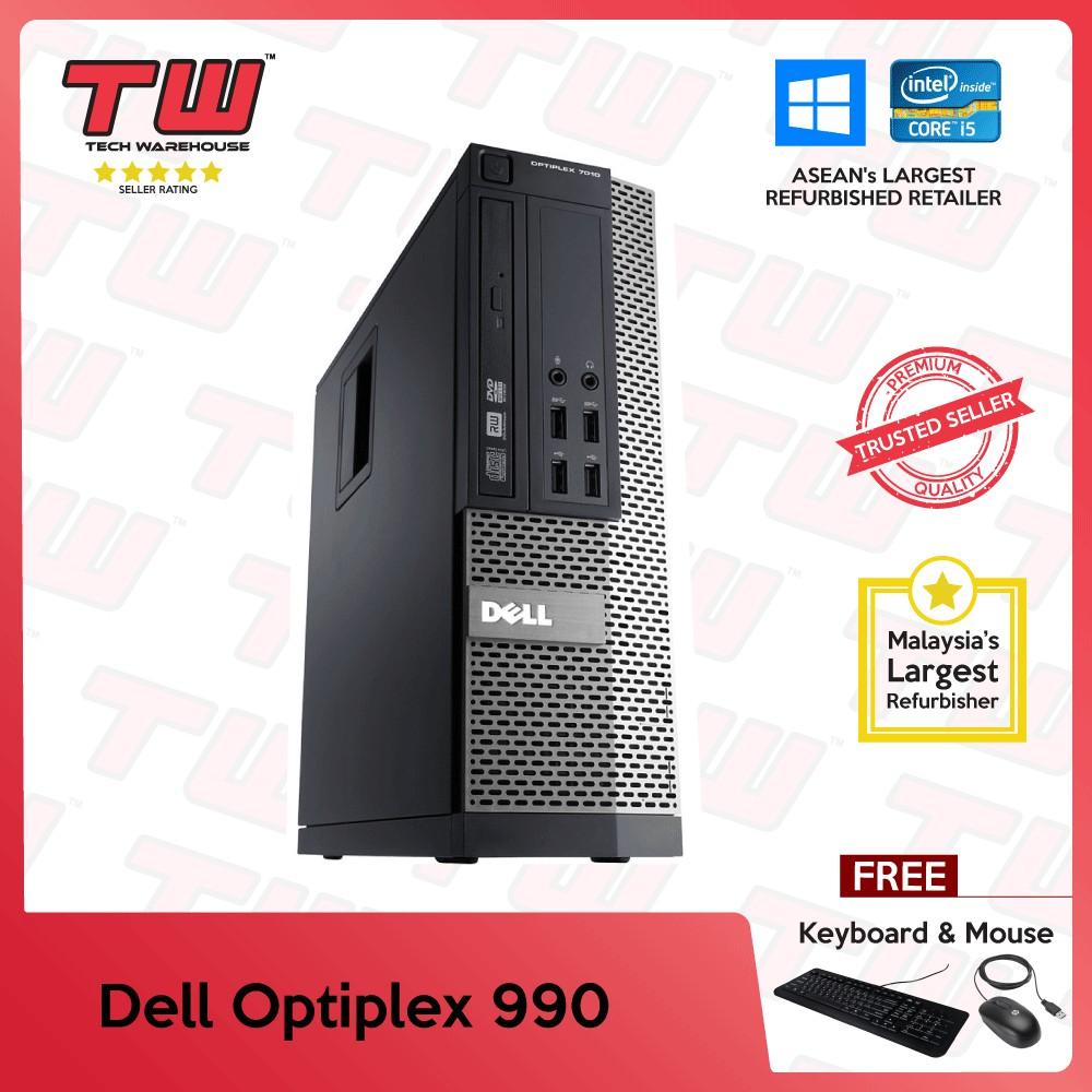 Dell Optiplex 990 (SFF) Core i5 2nd Generation (Factory  Refurbished)(Windows OS)