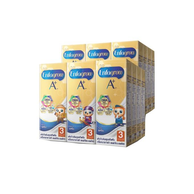 เอนฟาโกร เอพลัส สูตร 3 รสจืด นมกล่อง ยูเอชที สำหรับ เด็ก 36