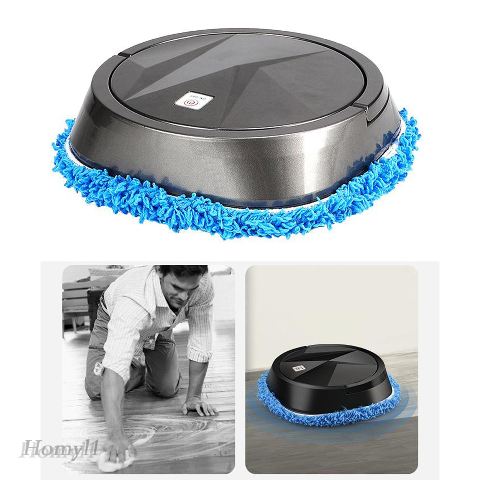 Homyl1 Automatic Floor Cleaning Sweeping Robot Vacuum Cleaner Floor Sweeper Mop Machine Shopee Malaysia