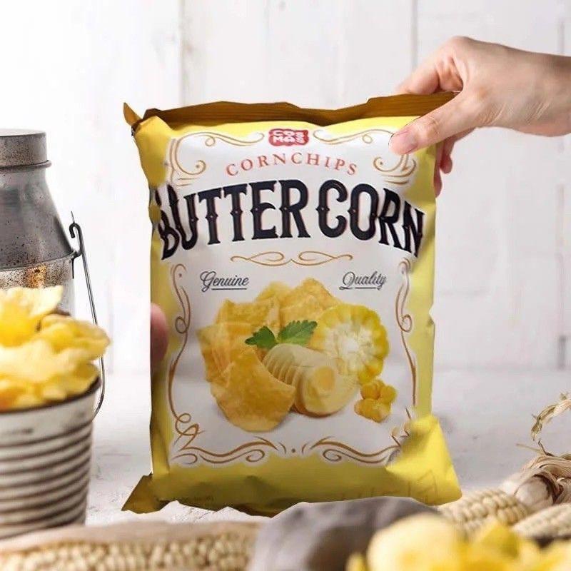 Korea Cosmos Butter Corn Chips 90g 韩国黄油玉米片