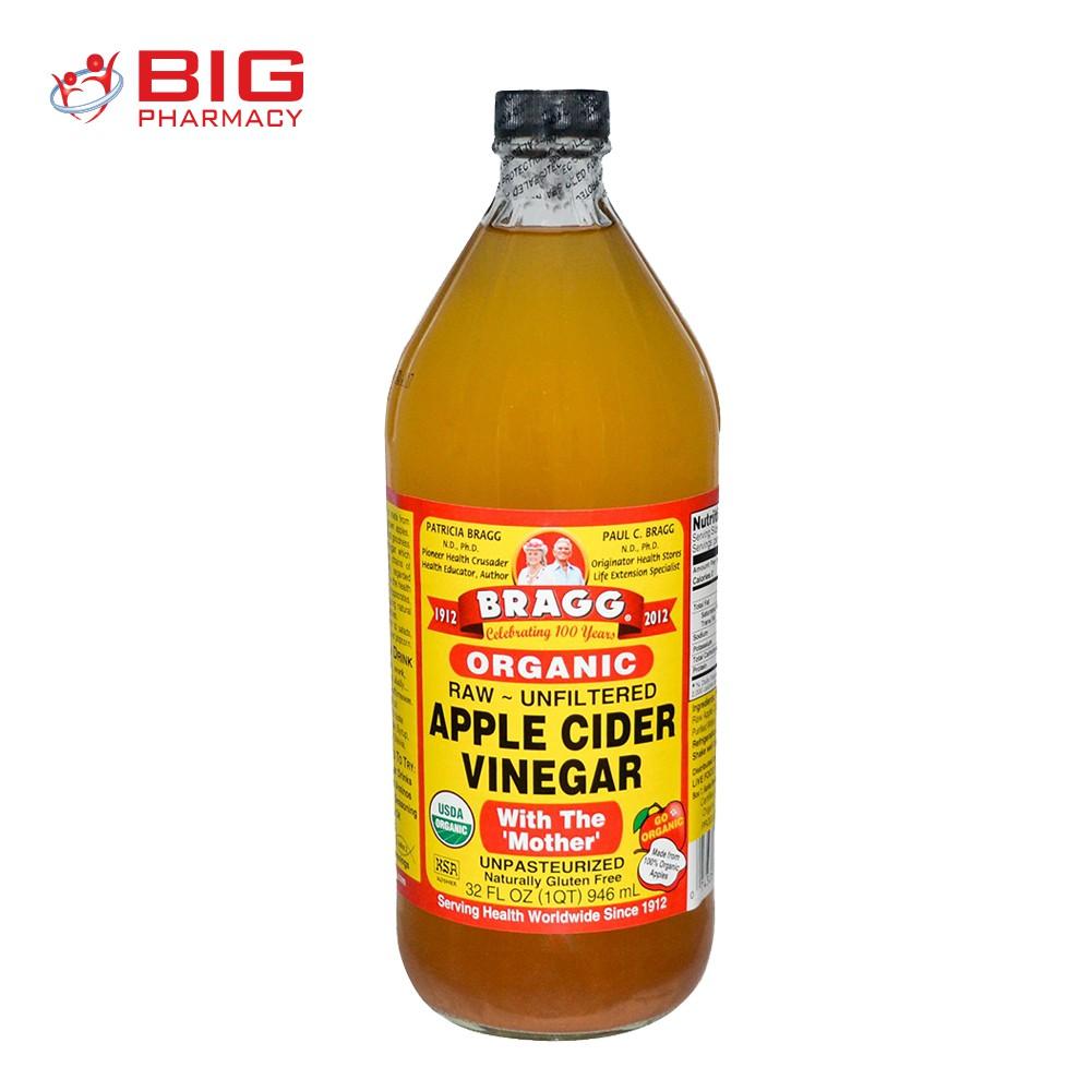Bragg Apple Cider Vinegar 946ml Shopee Malaysia
