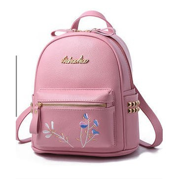 d6ad6ed6e41 Backpack Female Tide Fashion Wild Soft Leather Bag Ladies Mini Backpack  A225870