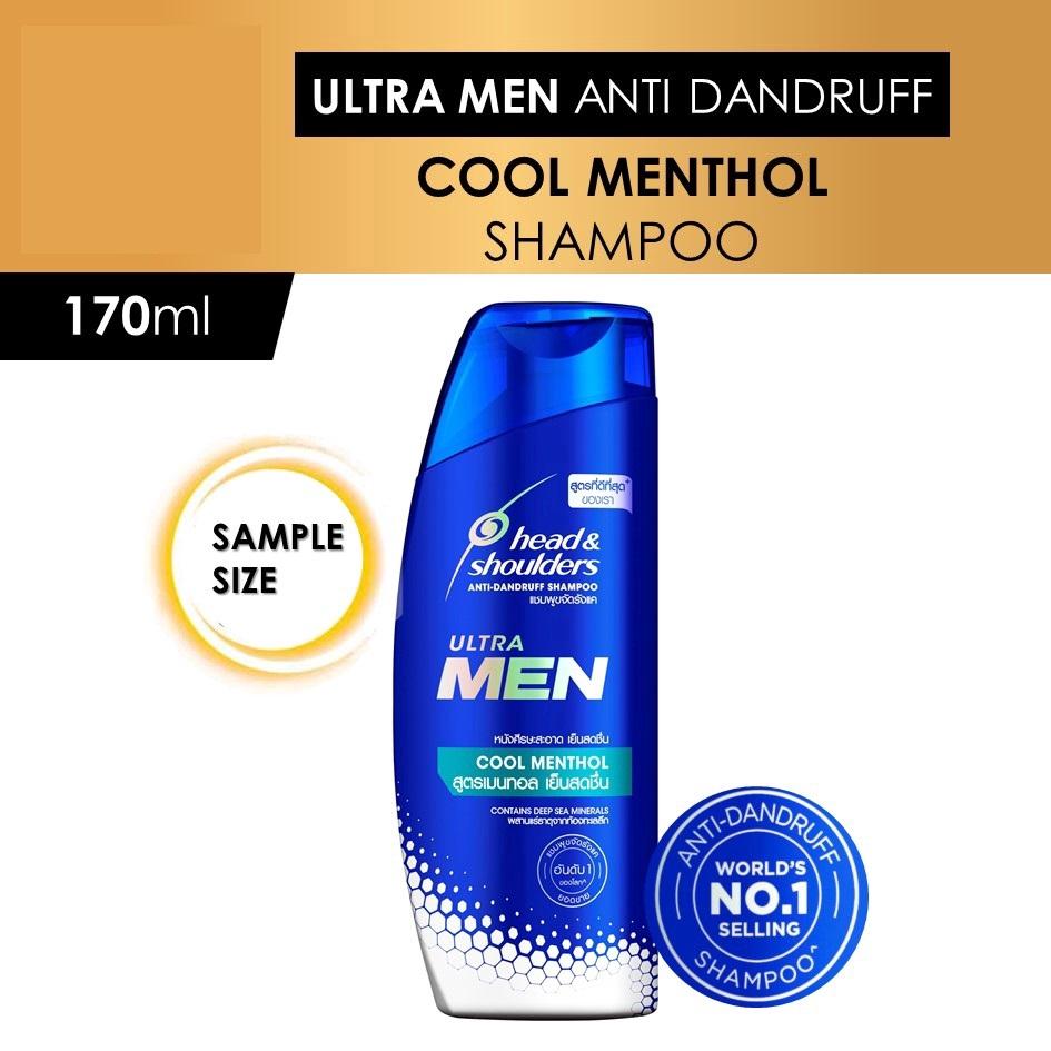 Head & Shoulders Ultra Men Cool Menthol Anti-Dandruff Shampoo 170ml