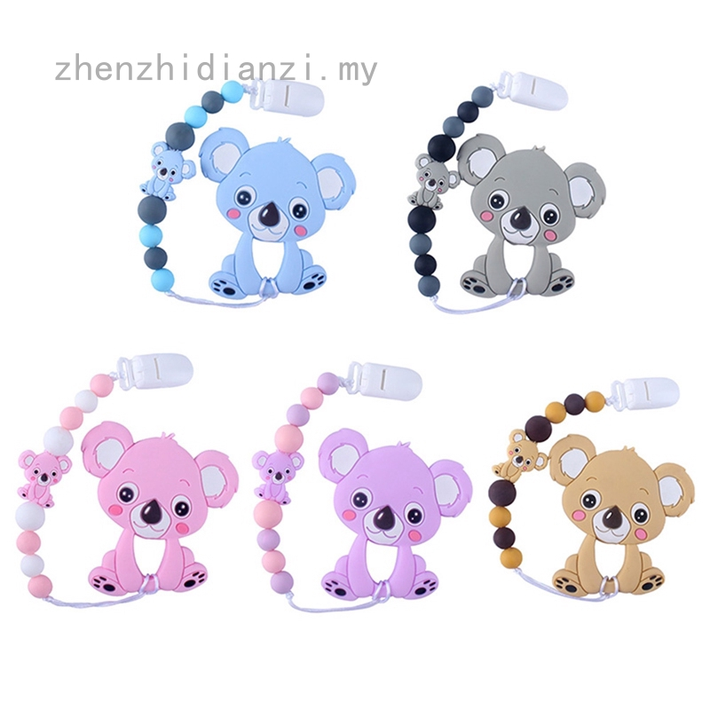 Toddler Infant Baby Cute Dummy Pacifier Clip Chain Holder Soother Nipple Strap Z