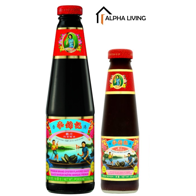 EXP 10/2023 Lee Kum Kee Premium Brand Oyster Sauce 510g/255g
