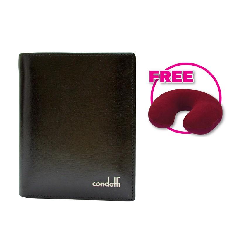 Condotti Men's Short Bifold Wallet [ C-60801 ]