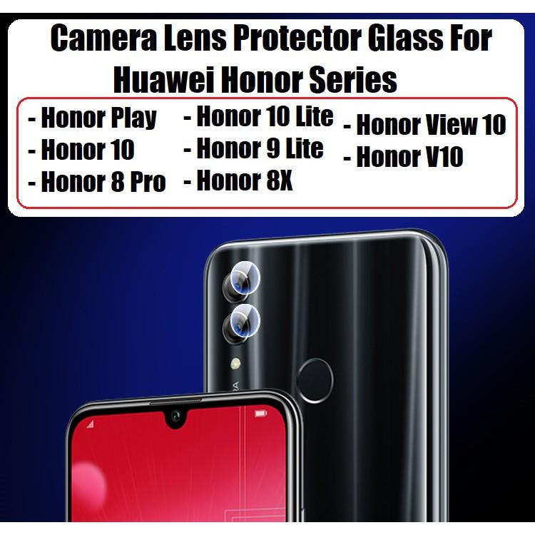 Huawei Honor 10 / View 10 / V10 / Honor Play / 8 Pro / Honor 10 Lite / 9  Lite / Honor 8X Camera Lens Glass Protector