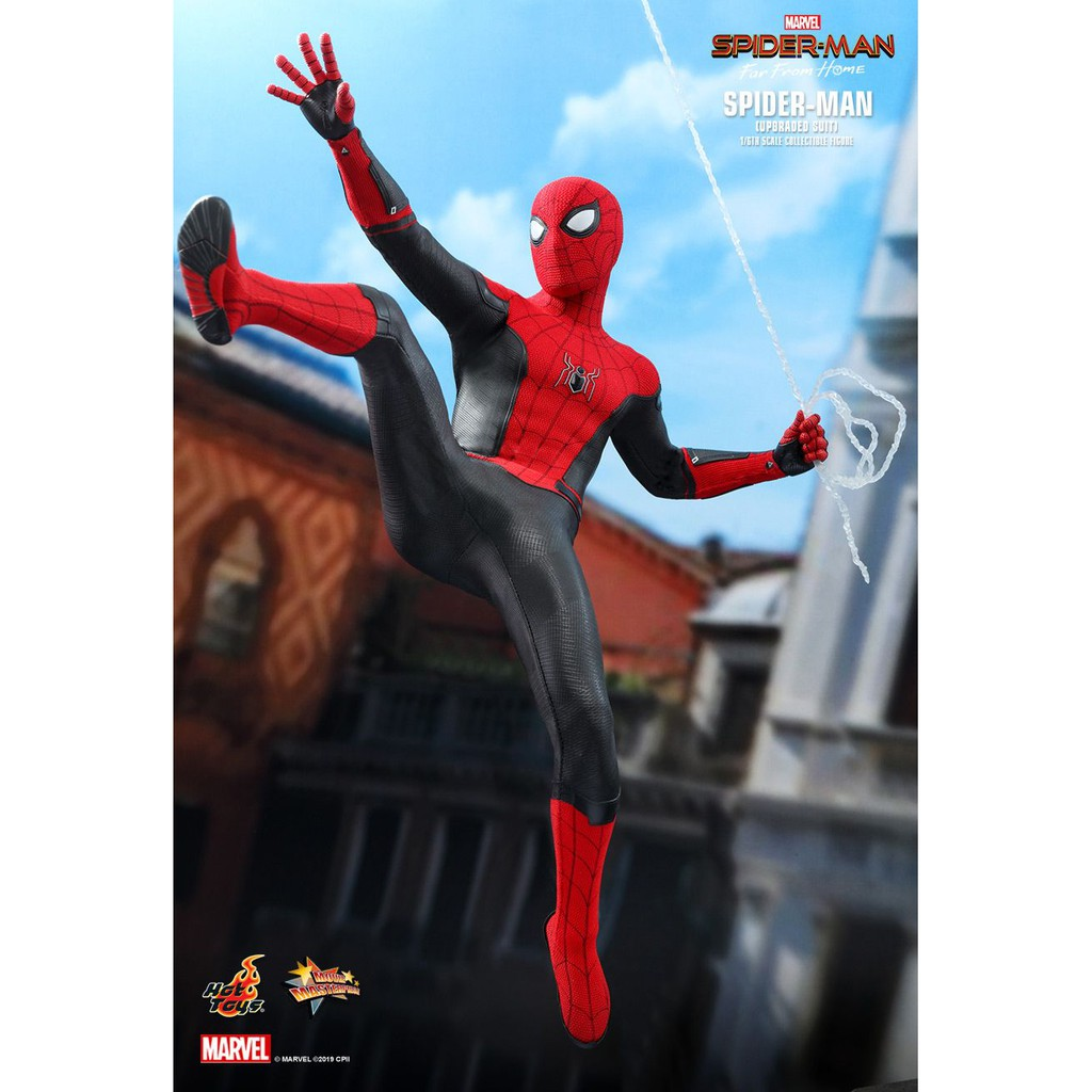Hot Toys Spider-Man Far From Home Light Box New Ready