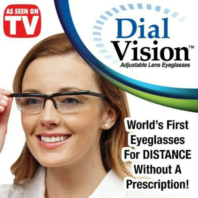f6b47705c42 Dial Vision - Adjustable Lens Eyeglasses - Local Courier