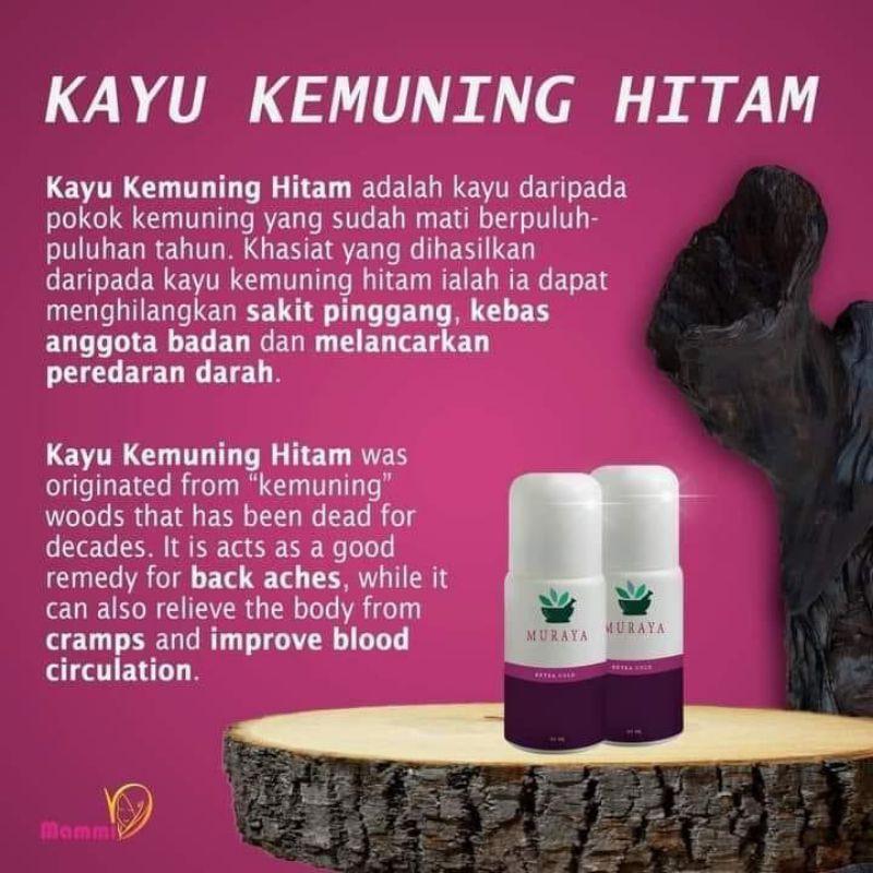 Essential Oil Minyak Kayu Kemuning Hitam