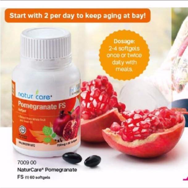After PKP/ MCO Tupperware Naturcare Pomegranate FS 60 Soft gels