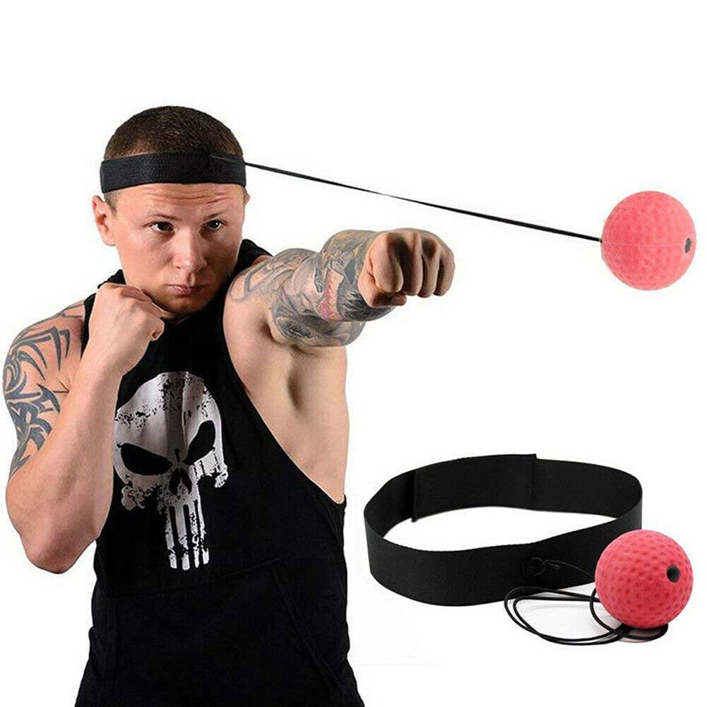 Fight Boxing Ball Equipment With Head Band For Reflex Speed Training Boxing F