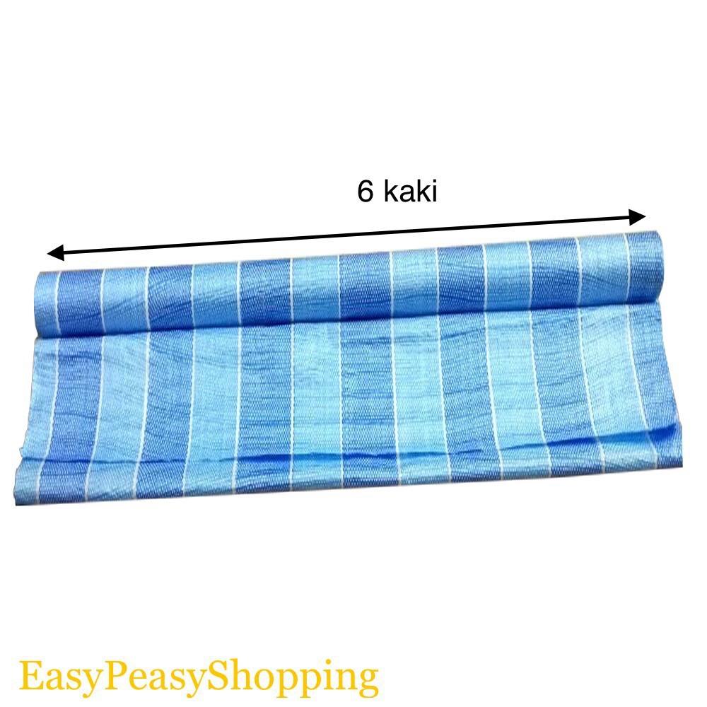 6feet Tarpaulin Sheet Canvas Blue