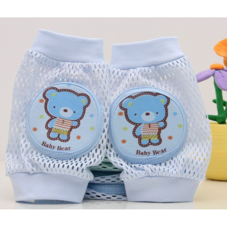 Baby Crawling Knee Protection Soft Cotton Pads