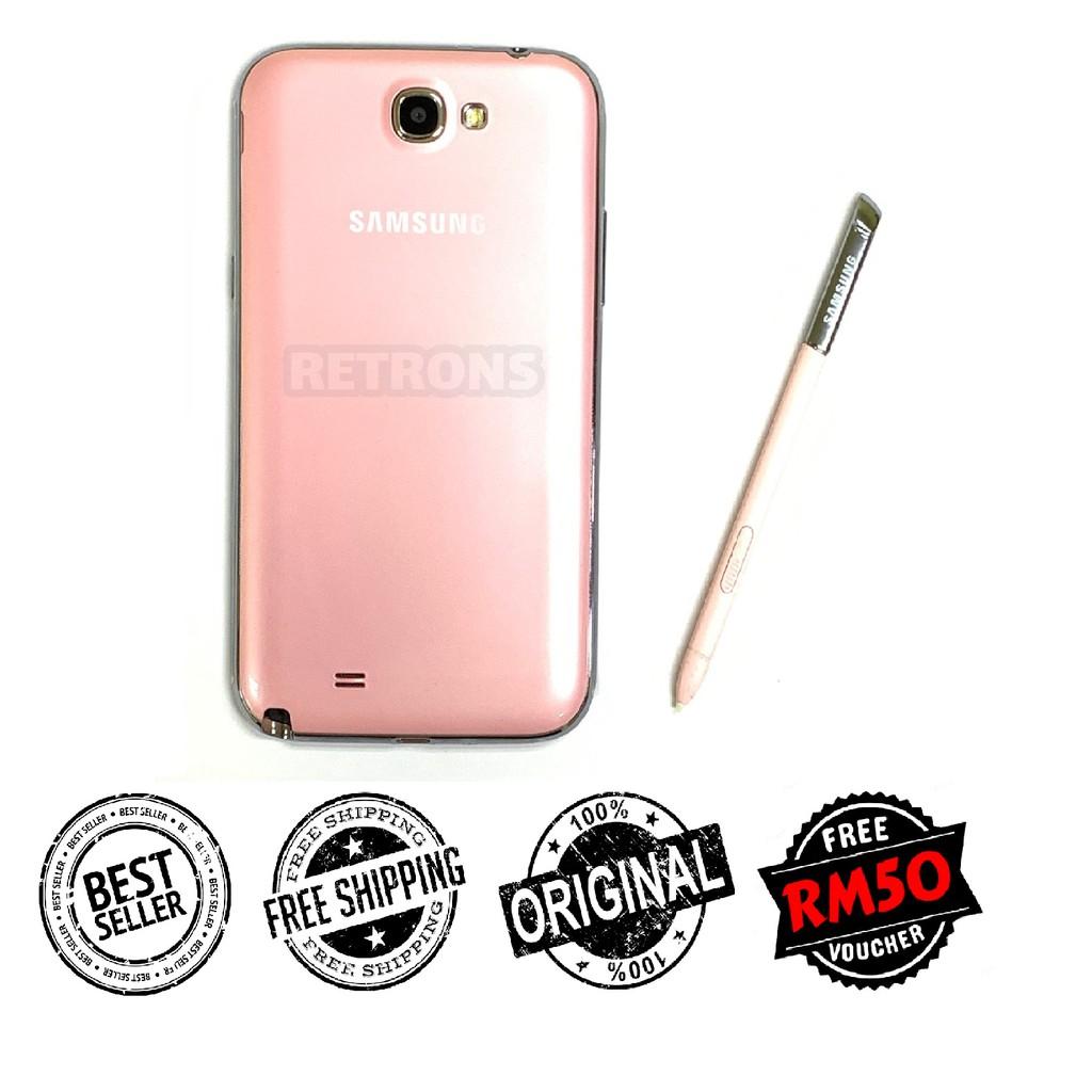 🇲🇾 Ori Samsung Note 2 N7100 3G   N7105 4G [16GB+2GB RAM] Amoled HD LCD FREE iRing Phone Holder [1 Month Warranty]