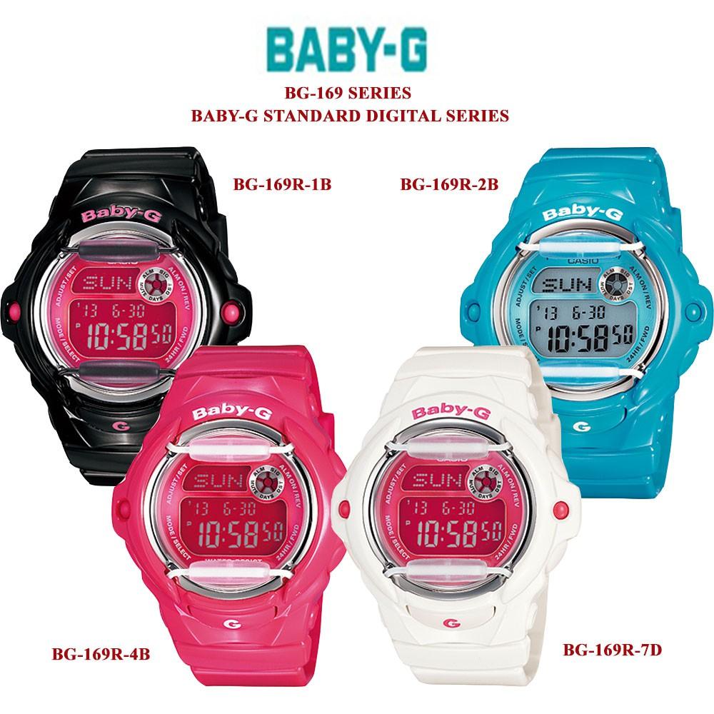 Casio Baby G Watch Bga 190 4bdr Shopee Malaysia 1b