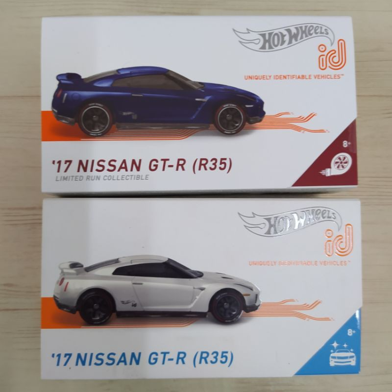 Hot Wheels Id 17 Nissan GTR R35 NEW