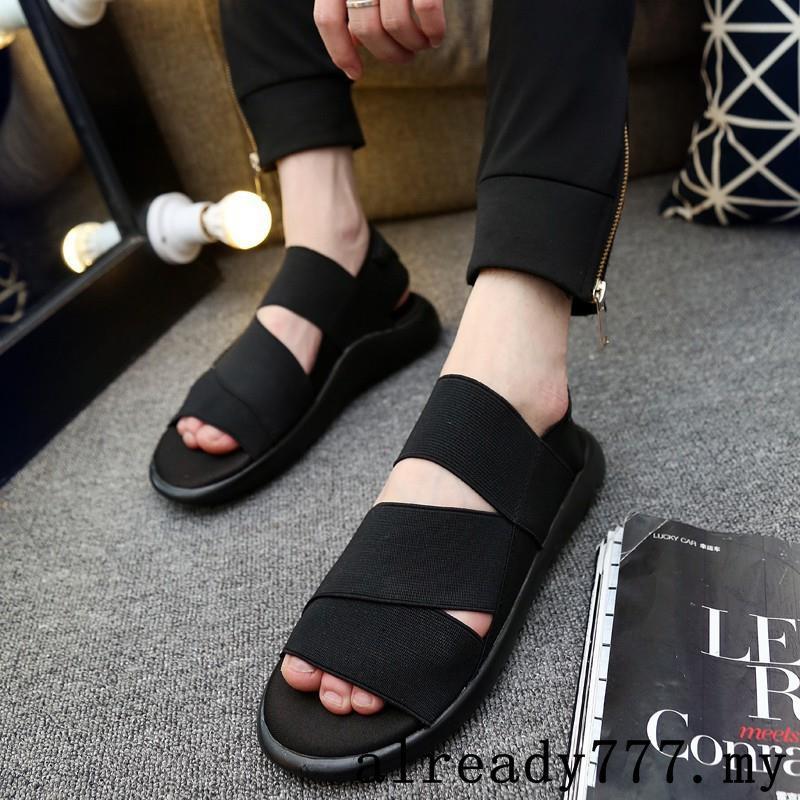 Adidas Y3 Male sandals women men Korean Casual Beach Summer Sandal ... f8d457239
