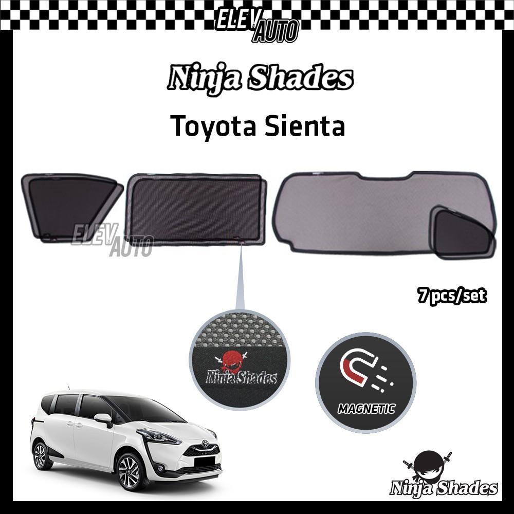 Toyota Sienta Ninja Shades OEM Magnetic Sunshade