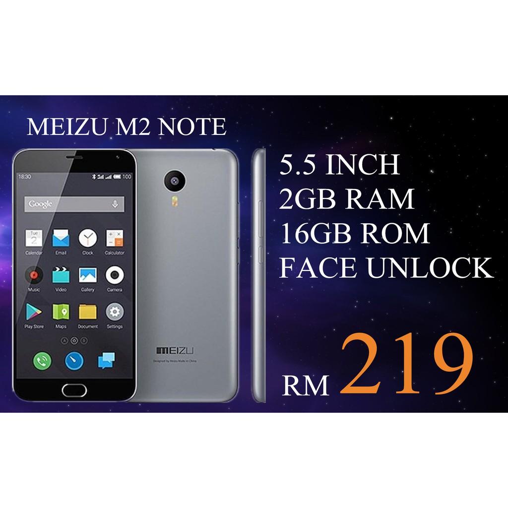 MEIZU M2 NOTE_2+16GB# Dual Sim_ORIGINAL PRELOVED SET