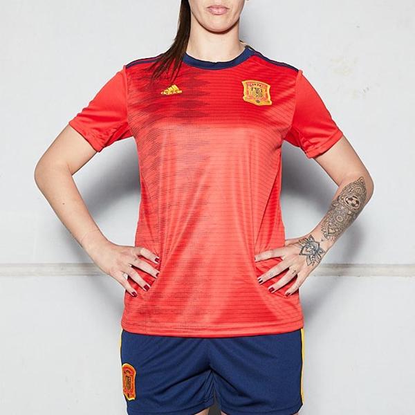 Spain Women Home Season 19/20 AEROREADY Fans Issue Jersey