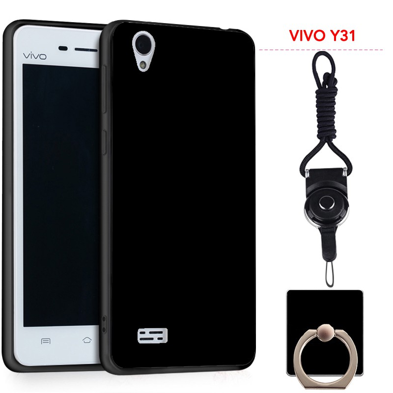 huge discount c8d0f 8f50c For VIVO Y31 Silicon Soft Ruber Case (Black)