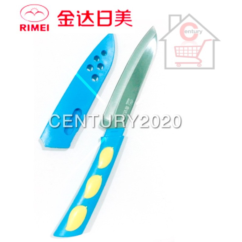 RIMEI Fruit Knife Kitchen Portable Fruit Knife With Cover Kitchen Tools 5145