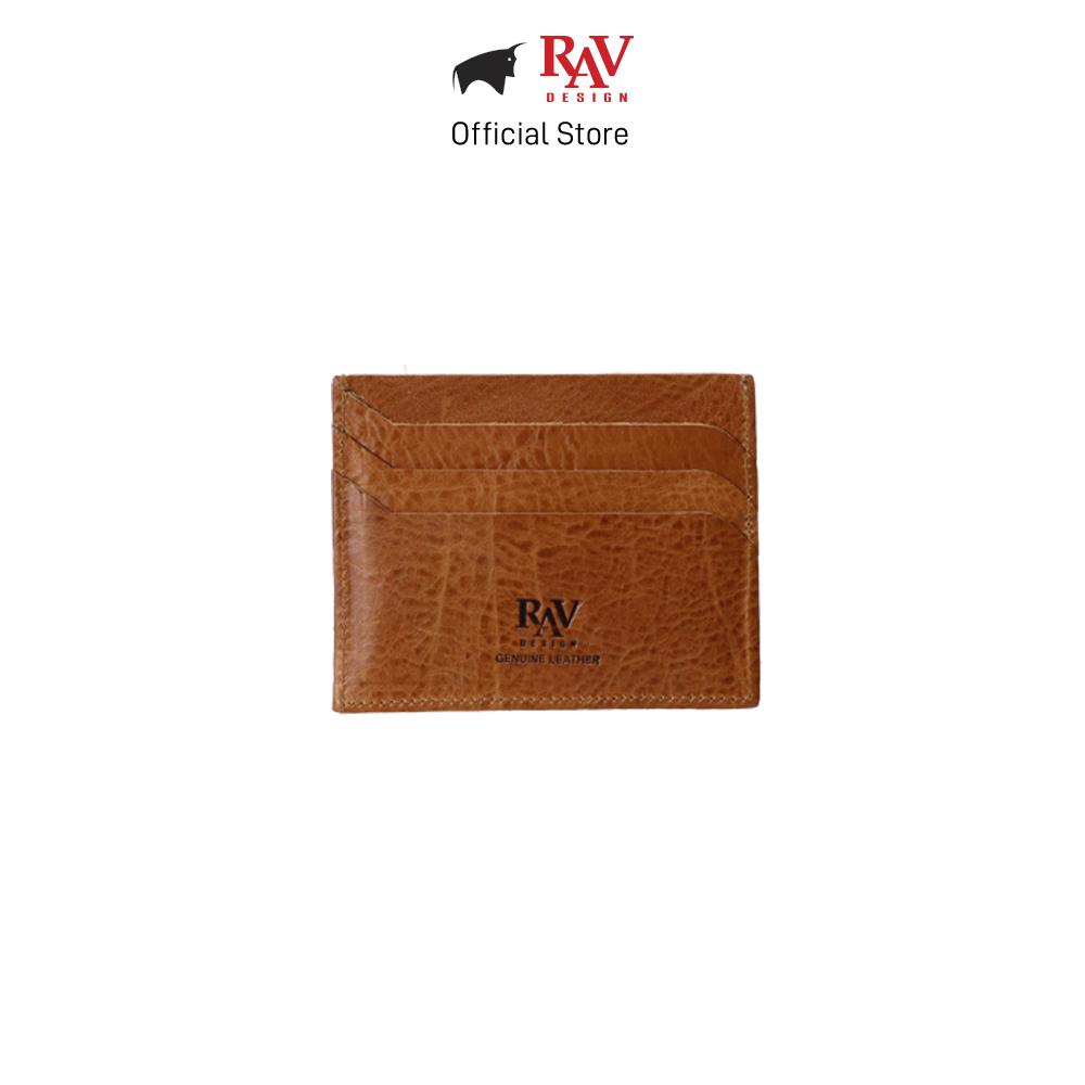 RAV DESIGN Men's Genuine Leather Cardholder |RVW652G3(C)
