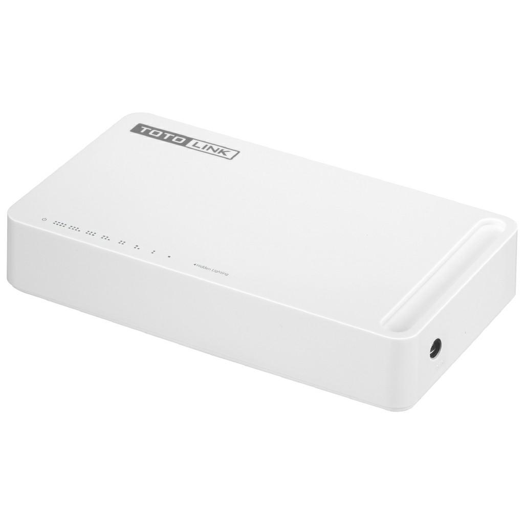 TOTOLINK S808G 8-Port 10/100/1000Mbps Gigabit Ethernet Desktop Network Switch
