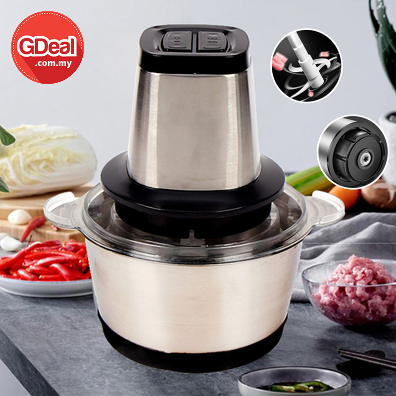 GDeal Multifunctional High Quality Stainless Steel Anti Rust Durable Meat Grinder Cooking Machine
