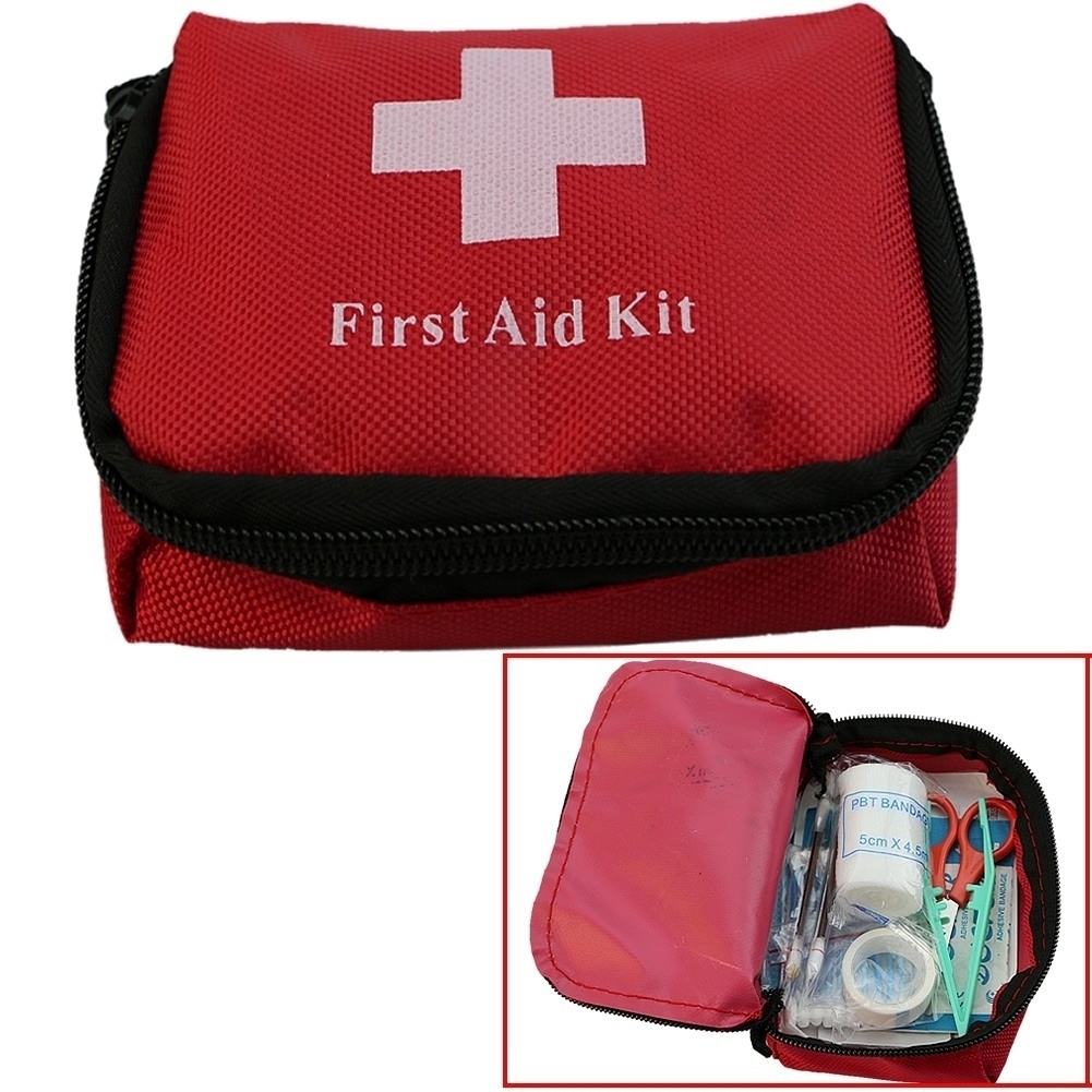 Storage Boxes & Bins First Aid Kit Waterproof Plastic Storage Box Portable Outdoor Travel Car Drug Pack Security Emergency Kits Medical Treatment Top Watermelons