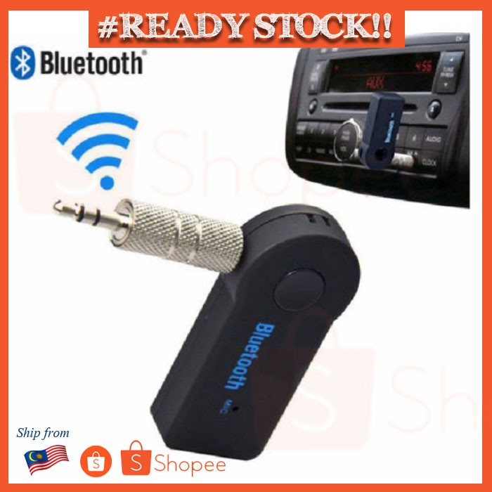 Wireless USB Mini Bluetooth Aux Stereo Audio Music Car Adapter Receiver